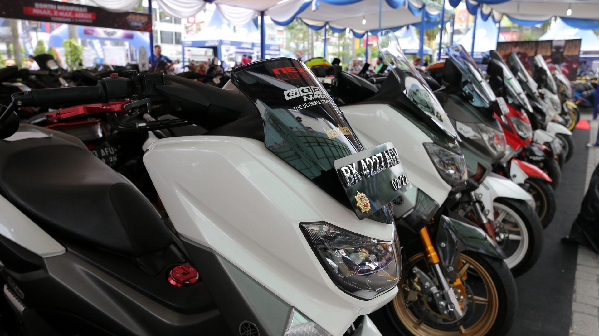 CustoMaxi Yamaha Hadir di Banjarmasin