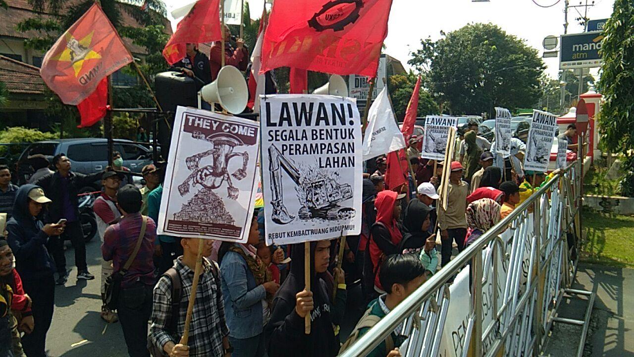 Rencana Penggusuran Pasar Griya Sukarame, Warga Demo Pemkot
