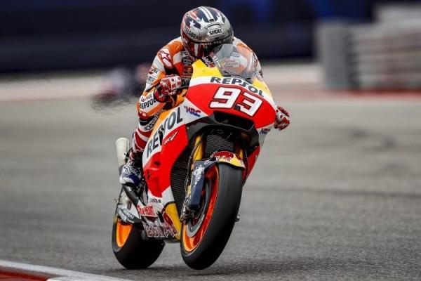 Marquez-Pedrosa Podium I-II di MotoGP Aragon