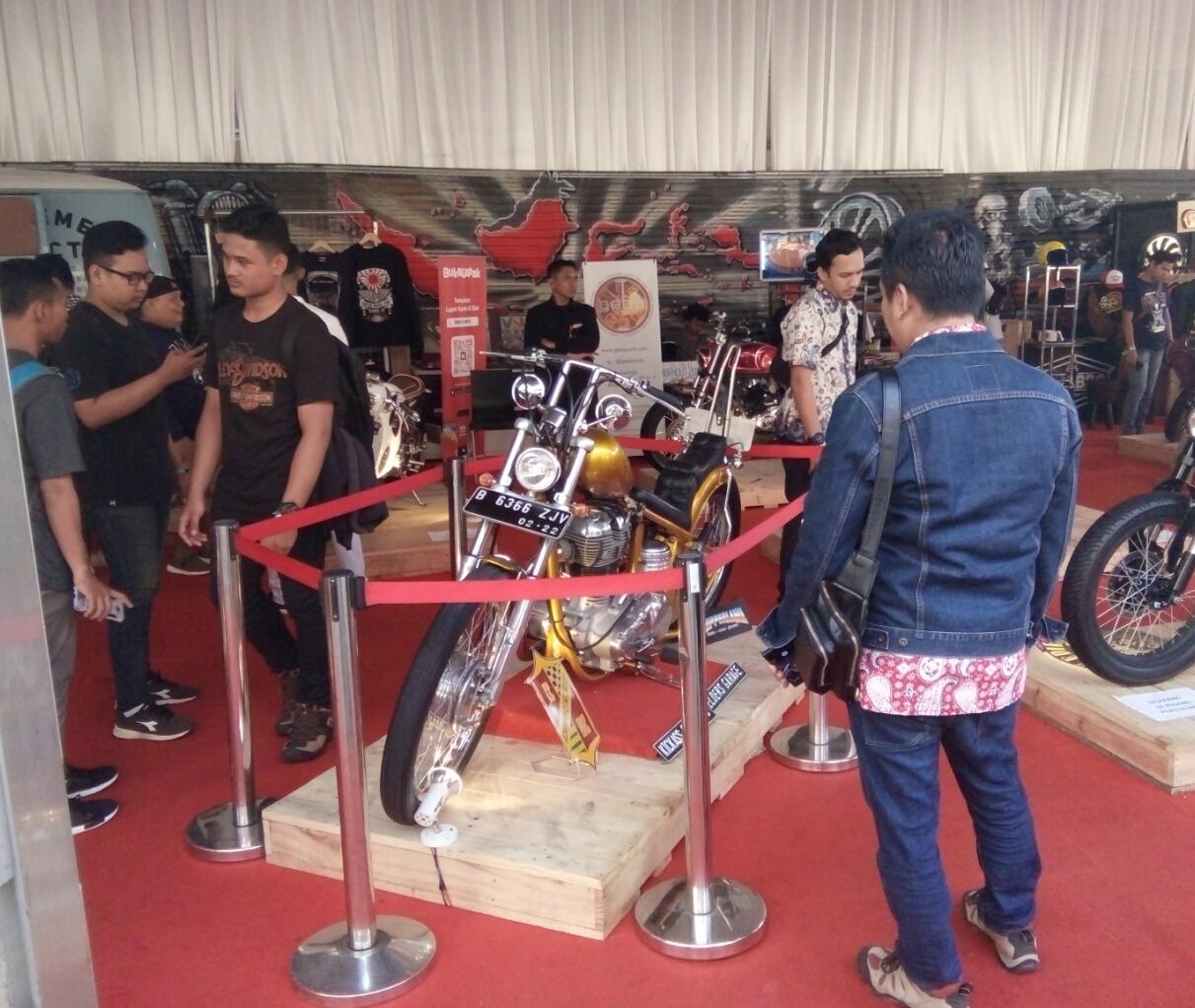 Motor Jokowi Masih Jadi Primadona di IIMS 2018