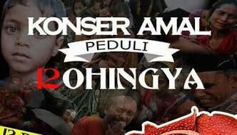 Konser Amal Rohingya Targetkan Raih Rp1 Miliar