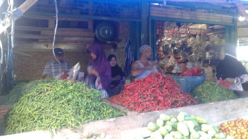 Cabai Merah di Lampura Tembus Rp60 Ribu Per Kilo