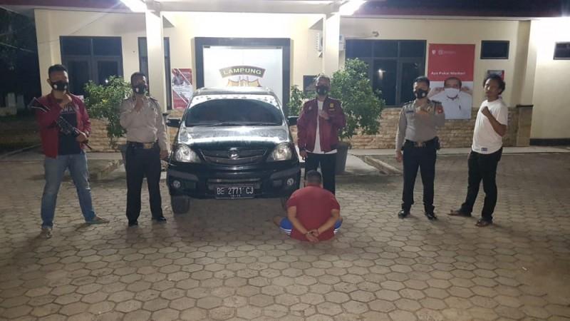 Cabuli Mantan Kekasih, Mahasiswa Asal Tanjungkarang Pusat Ditangkap Tekab 308 Pesawaran
