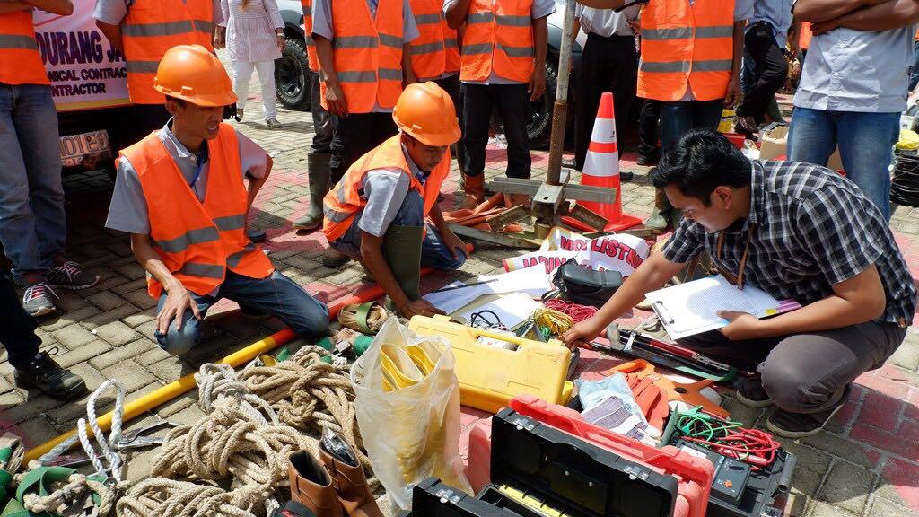 PLN Utamakan Keselamatan Kerja dengan 'Geprak'