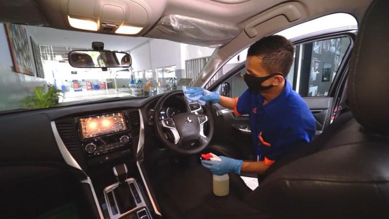 Cairan Disinfektan yang Cocok untuk Kabin Mobil