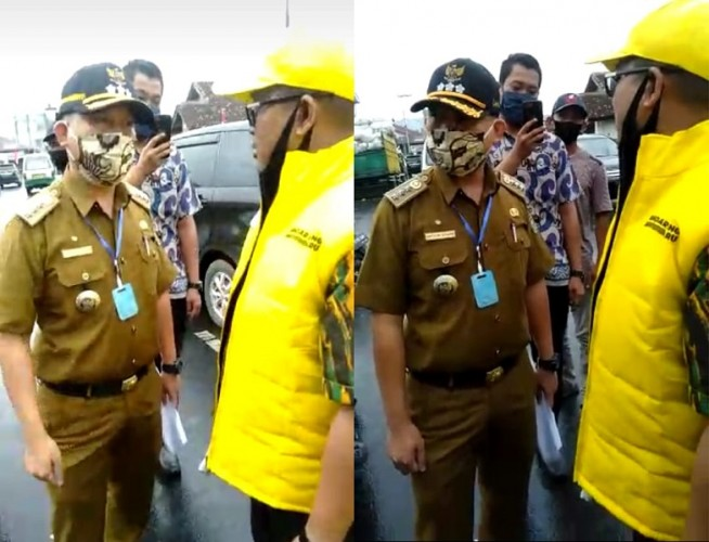 Camat dan Lurah di Bandar Lampung Hadang Balonkada Bersosialisasi