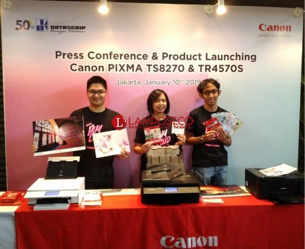 Canon Luncurkan Dua Printer Baru