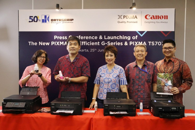 Canon Luncurkan Pixma Ink Efficient G-series