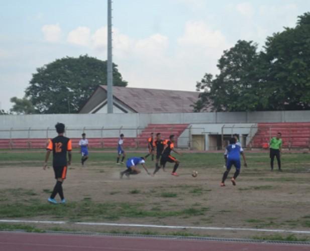 Catur Tunggal Vs PS BSI di Final Liga Askot PSSI Bandar Lampung