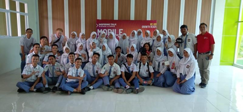CCAI-Lampost Bangun Karakter Tangguh Siswa SMAN 5 Bandar Lampung