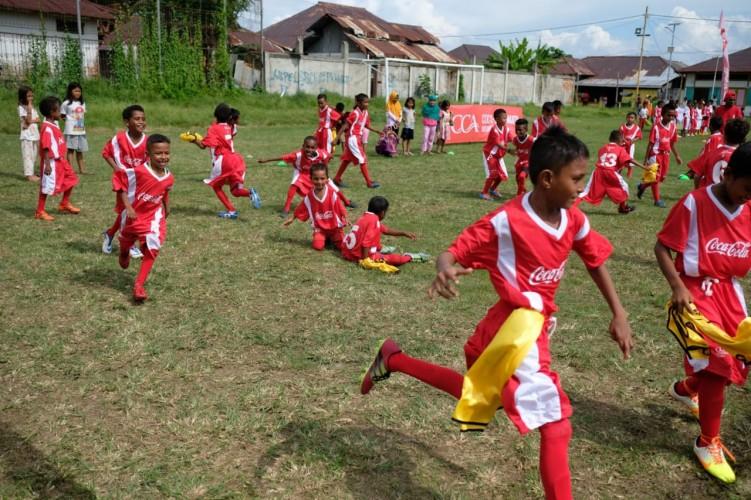 CCAI Latih 2.000 Pesepak Bola Muda se-Indonesia