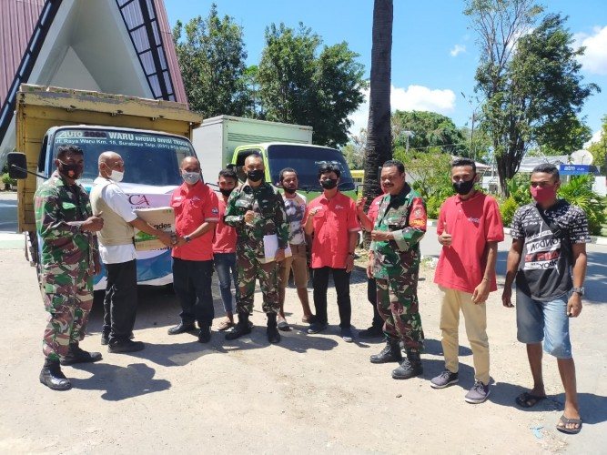 CCAI Salurkan Bantuan untuk Pemulihan Pascabencana di NTT dan NTB
