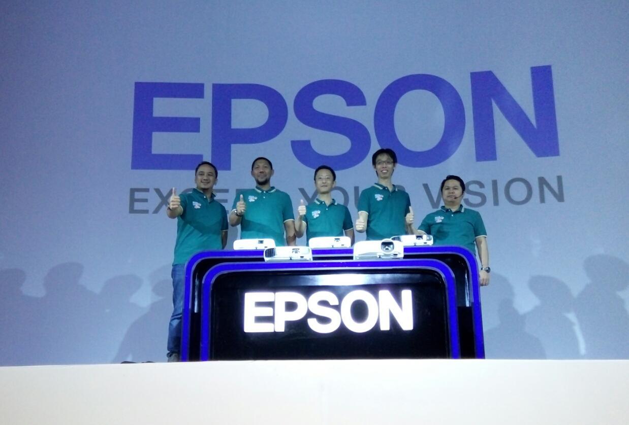 Epson Luncurkan Rangkaian Proyektor Terbaru