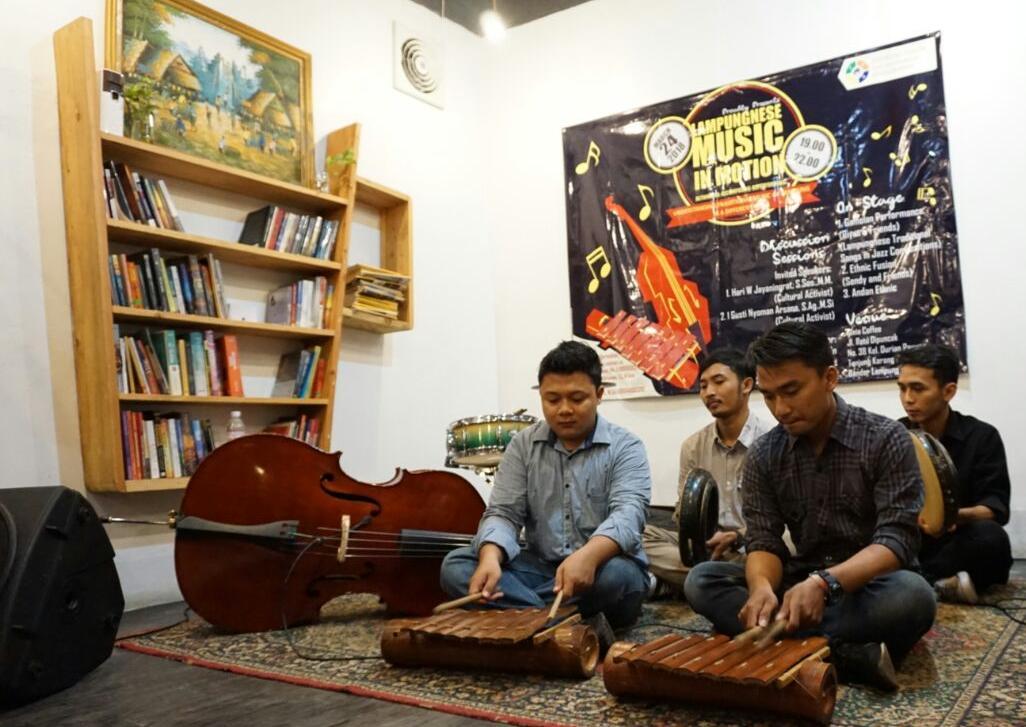 Edelweiss Ajak Generasi Millenial Peduli dan Lestarikan Musik Lampung
