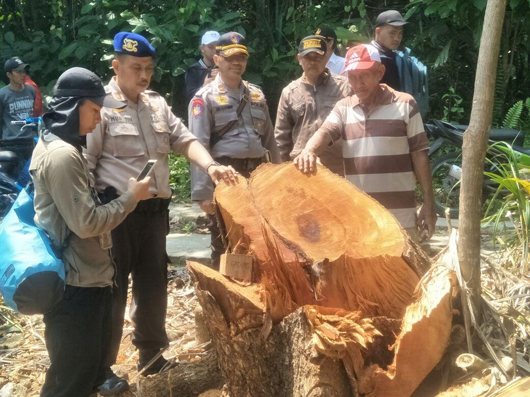 Dipolair Polda Lampung Lacak Balak ke TKP Buat Tentukan Tersangka