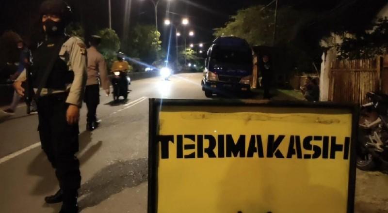 Jalan Yos Sudarso Disekat-sekat Cegah Terorisme