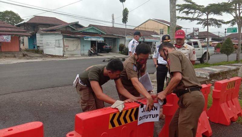 Cegah Covid-19, 13 Titik Masuk Perkantoran Pemkab Lambar Ditutup