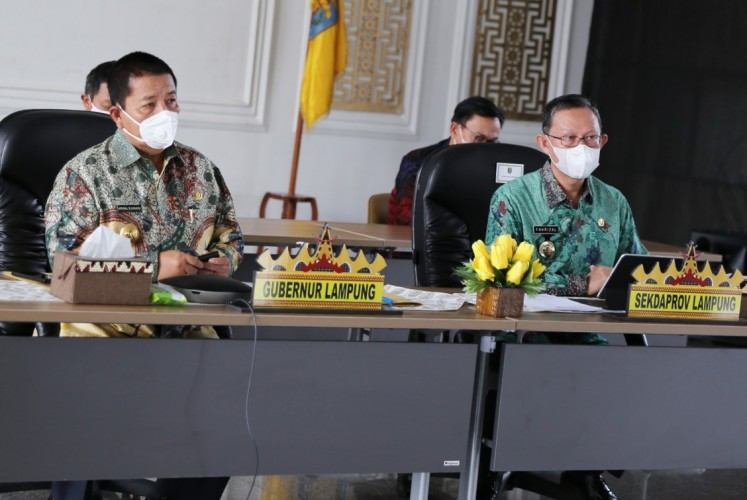 Cegah Korupsi Pengadaan, Pemprov Lampung Gunakan Aplikasi Bela