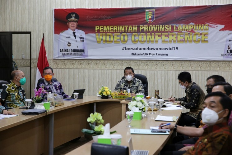 Cegah Korupsi Secara Terintegrasi, MCP Lampung Capai 81%