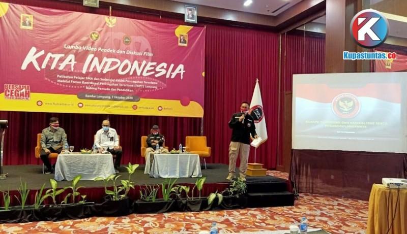 Cegah Terorisme, BNPT dan FKPT Lampung Gelar Lomba Video Pendek Pelajar