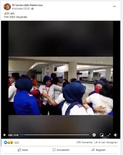 [Cek Fakta] Lion Air PHK 3.000 Karyawan? Ini Faktanya