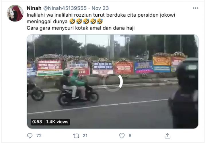 [Cek Fakta] Presiden Jokowi Dikabarkan Meninggal Dunia? Ini Faktanya