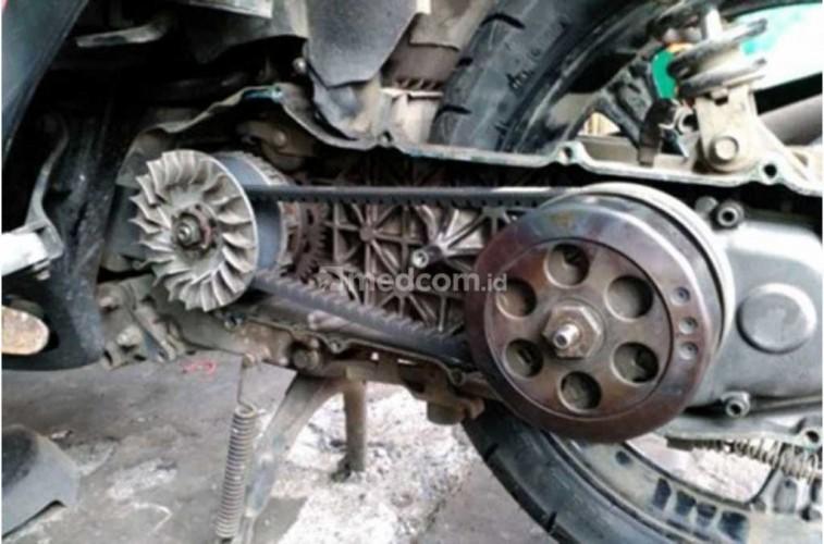 Cek V-Belt Motor Matic Sebelum Mudik, Cegah Putus di Jalan