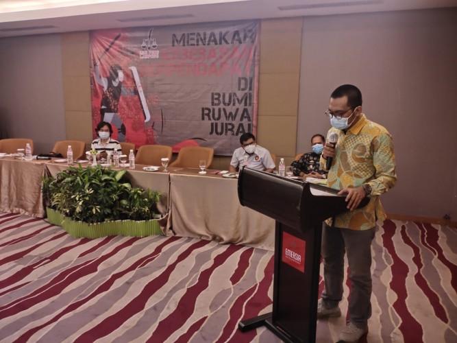 Chandra Bangkit Pimpin LBH Pers Lampung