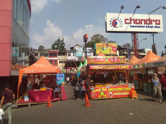 Chandra Gelar Festival Kuliner 2019 Rasa Nusantara