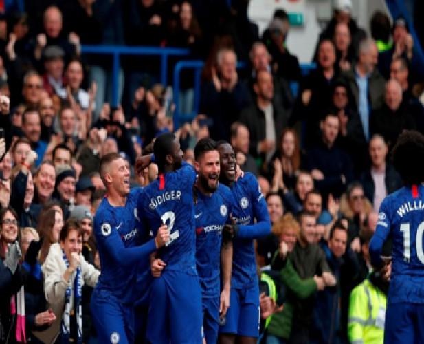 Chelsea Perkasa di Kandang atas Everton