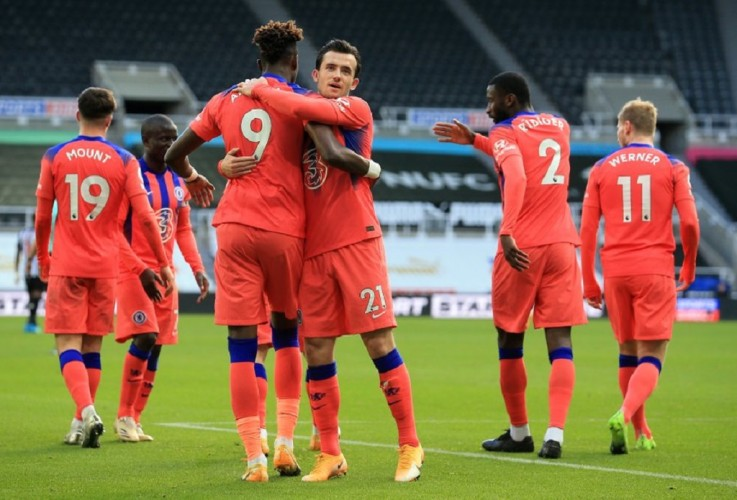 Chelsea Rebut Puncak Klasemen Usai Tekuk Newcastle