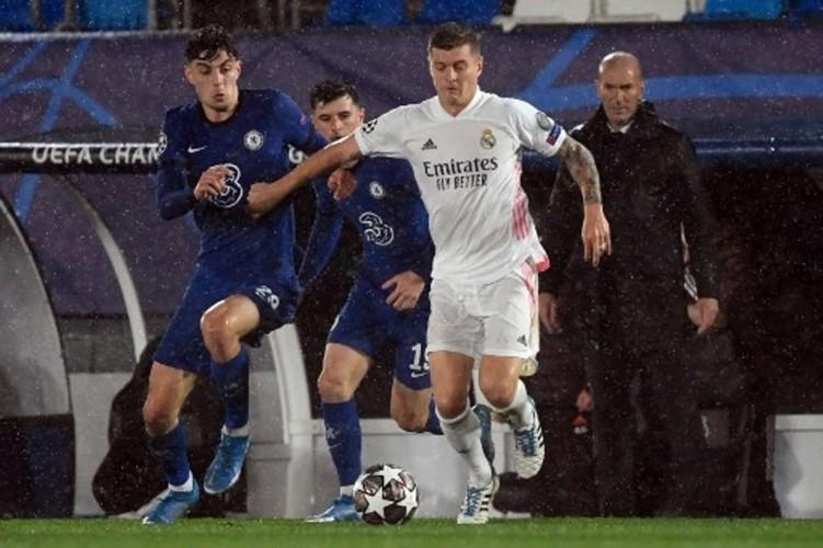 Chelsea Tahan Imbang Madrid di Alfredo Di Stefano