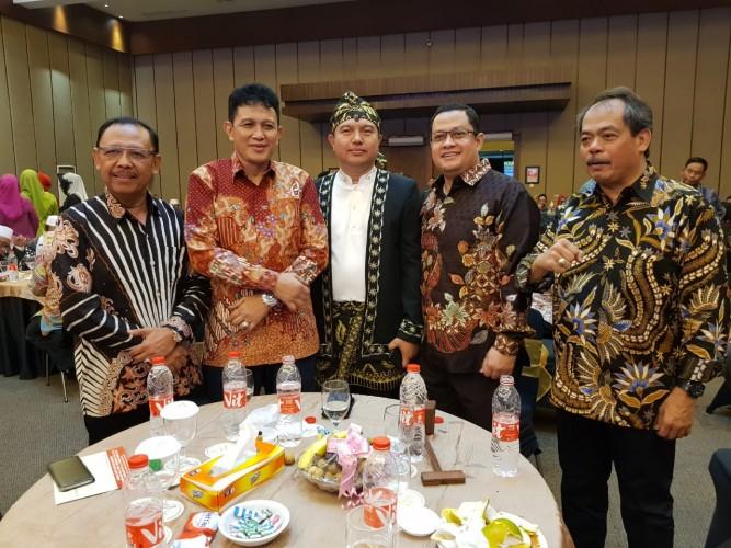 Chika dan Narji Pandu Temu Pamit Kapolda Banten