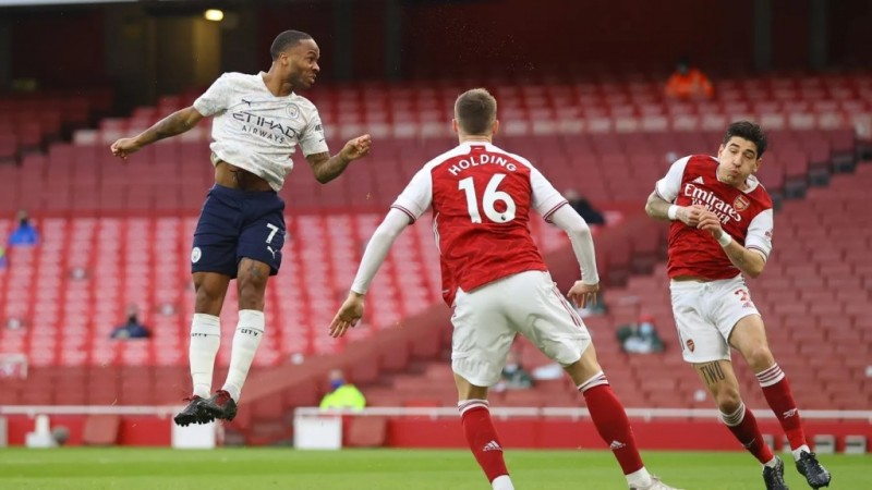 City Menang Tipis atas Arsenal