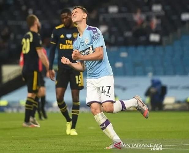 City tanpa Ampun Hajar Arsenal 3-0