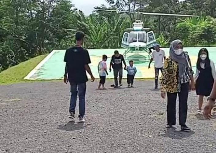 City Tour Helikopter Strategi Bangkitkan Wisata Lampung