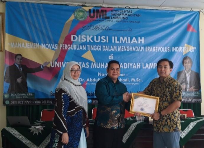Civitas Akademik UM Lampung Manfaatkan Teknologi Menghasilkan