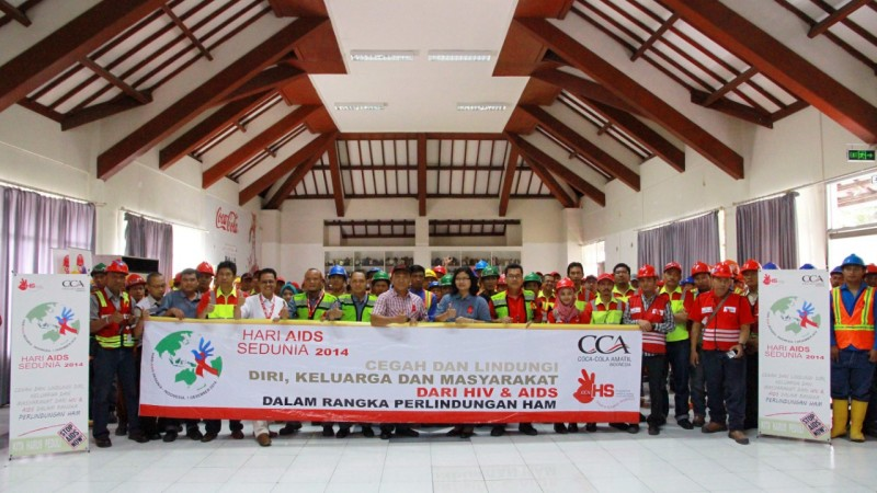 Coca-Cola Amatil Indonesia Raih Penghargaan Zero Accident & P2 HIV AIDS Tingkat Nasional