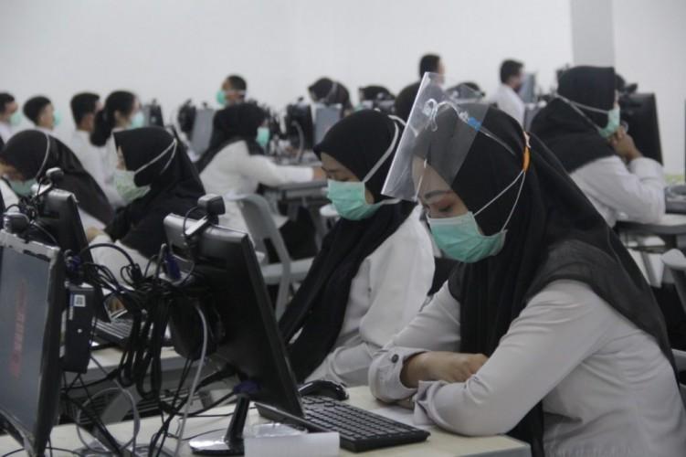 CPNS dan Calon PPPK Tes SKD di Pesawaran Wajib Bawa Surat Swab Antigen