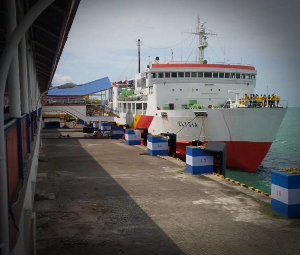 Cuaca Aman, Aktivitas Penyeberangan Bakauheni-Merak Lancar