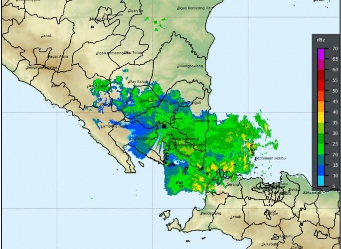 Cuaca Buruk Berpotensi Terjadi di Sebagian Besar Lampung