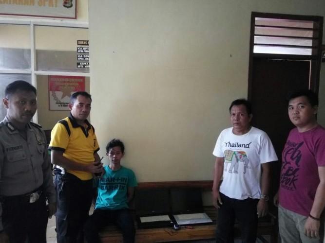 Curi Laptop di Sekolah, Remaja Asal DesaSinar Bandung Diringkus Polisi