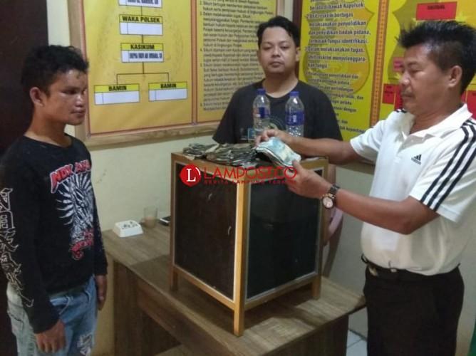 Curi Uang Jasa Kebersihan Toilet SPBU, Pemuda Pengangguran Ini Digelandang Polisi