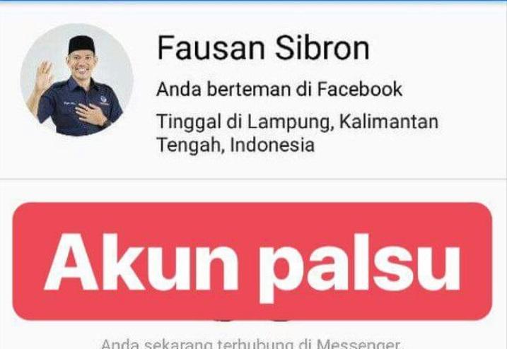 Waspada Akun Facebook Bodong Fausan Sibron
