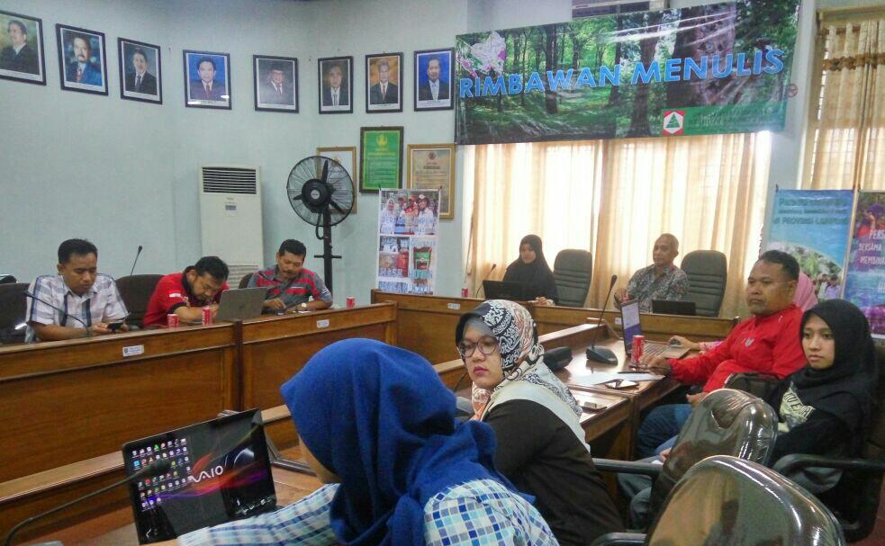 Workshop Jurnalistik Semarakkan Hari Bakti Rimbawan