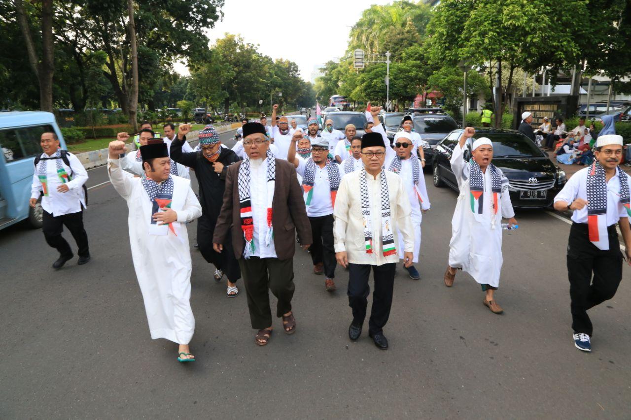 Bupati Lampung Selatan Turut Aksi Bela Palestina