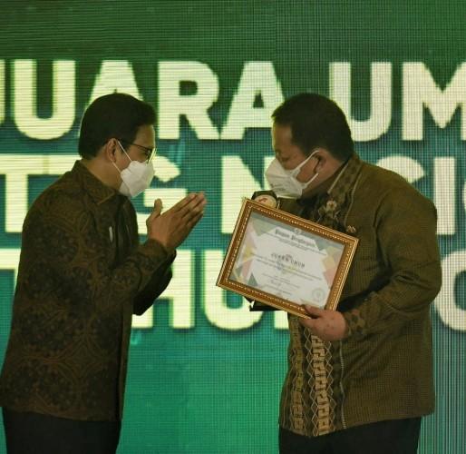 Daftar Penghargaan untuk Lampung dari Kemendes