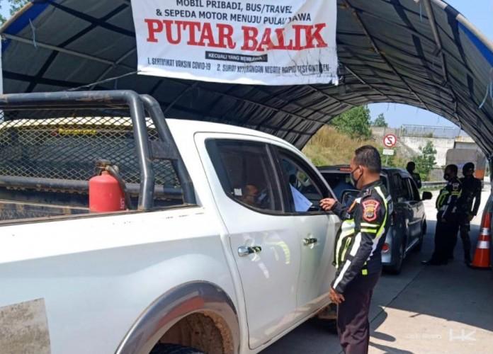 Daftar Ruas Tol Trans Sumatra yang Disekat Selama PPKM Darurat