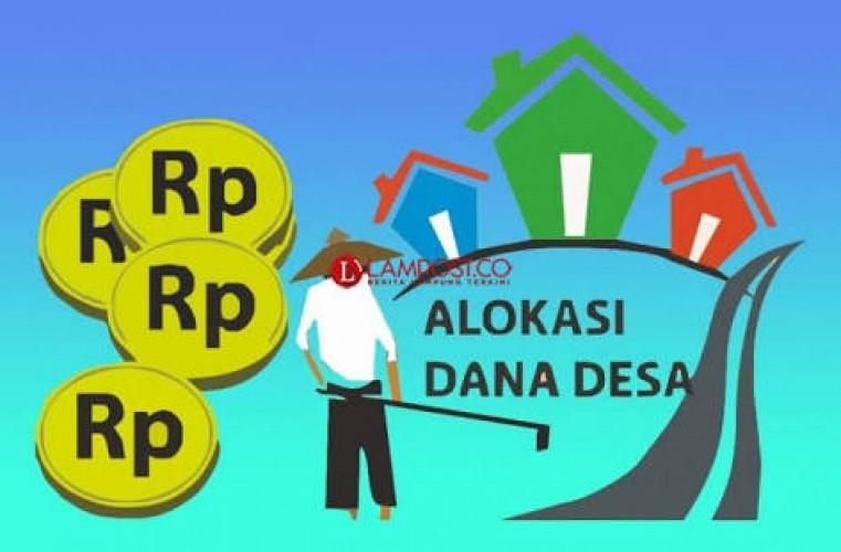 Dana Desa Tahap Pertama di Lampung Serap Rp400 Miliar