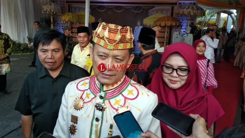 Dang Ike Berharap Lampung Mendunia Ditangan Gubernur Baru